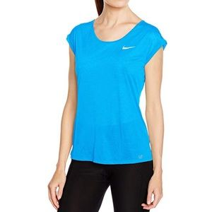 Nike Women's Dri-fit Cool Breeze Running Top Large